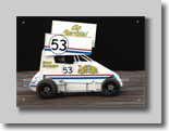 "Cole Cabrera in ""Herbie"" Minisprint"
