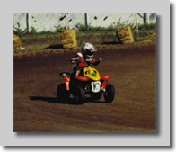 Cole on Quad Race